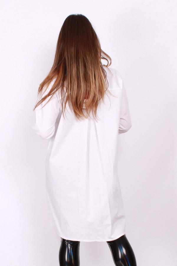 Koszula z ozdobnym tiulem 2