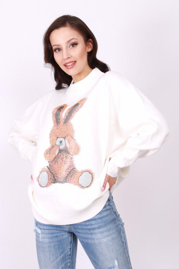 Sweter z królikiem