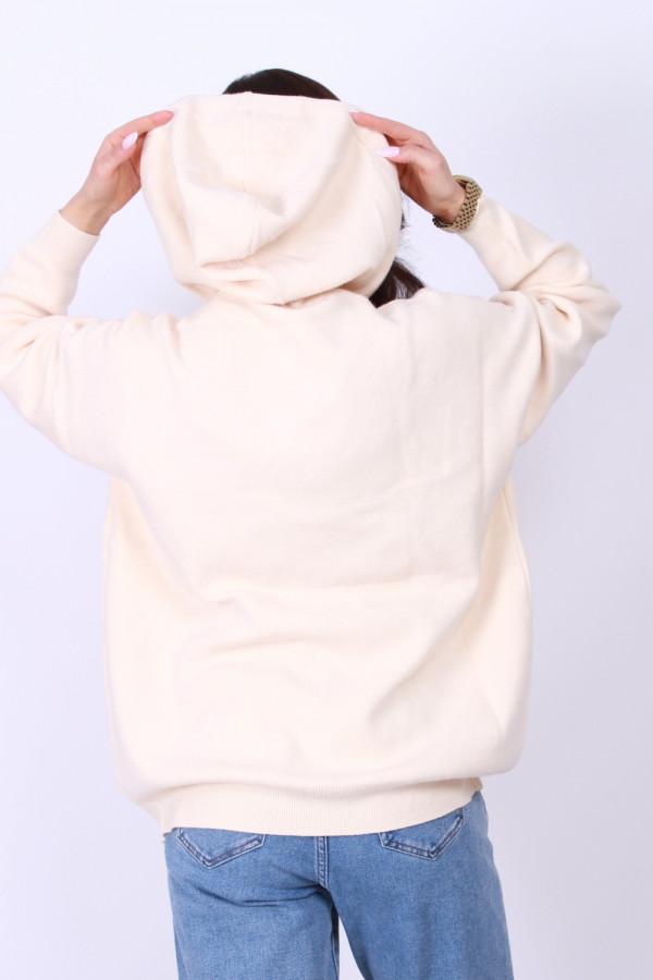 Sweter z kapturem 4