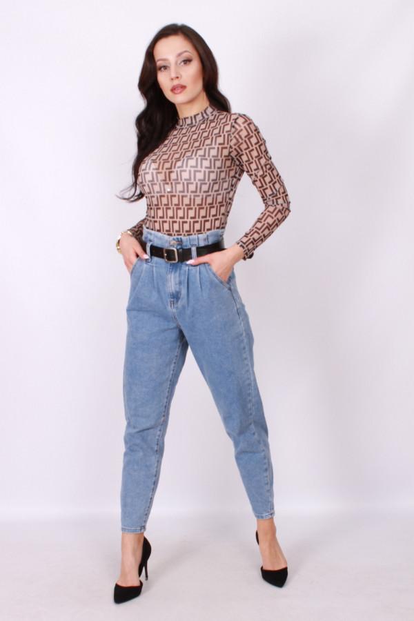 Spodnie typu momfit