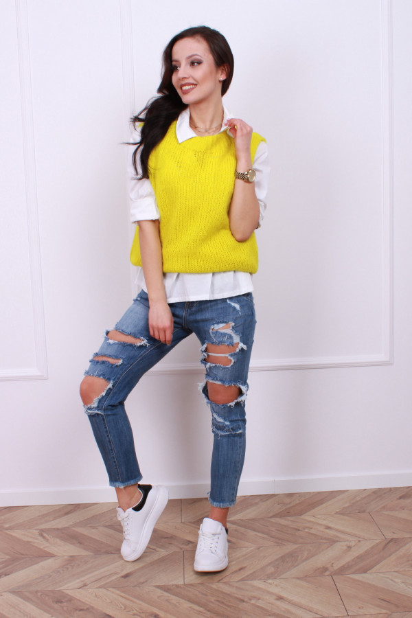 Koszula ze sweterkiem 5