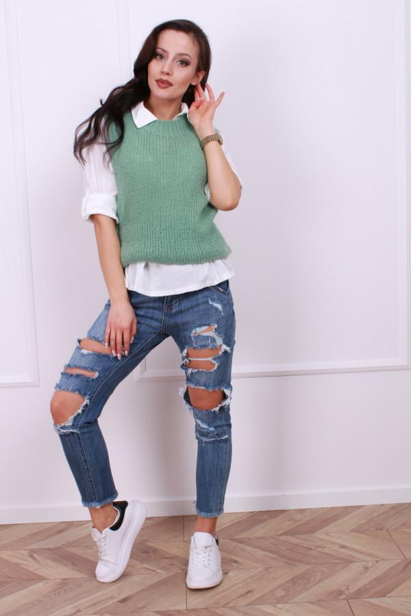 Koszula ze sweterkiem 8