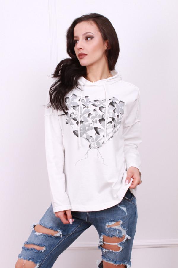Bluza z kwiecistym wzorem 1