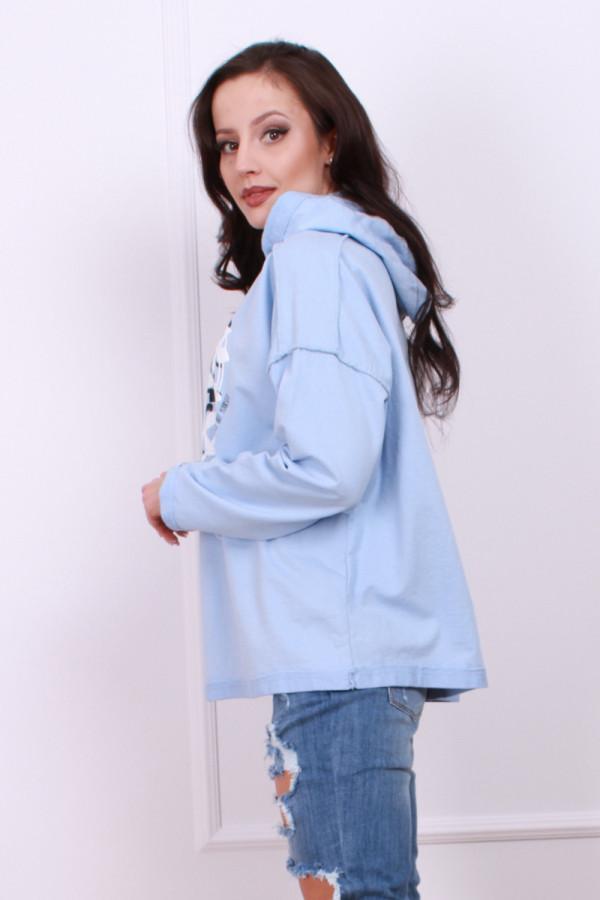 Bluza z kwiecistym wzorem 2