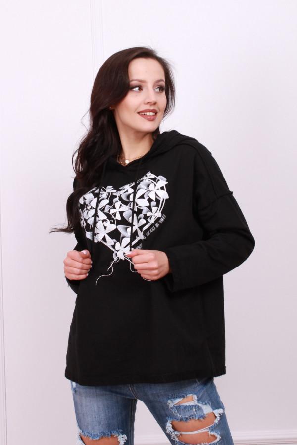 Bluza z kwiecistym wzorem 4
