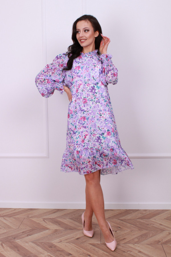 Sukienka w kwiaty 1