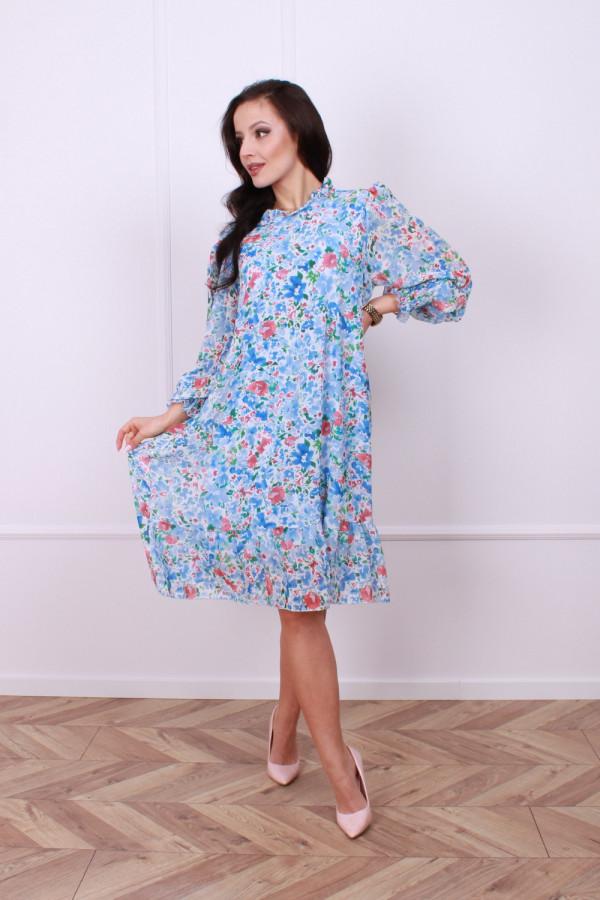 Sukienka w kwiaty 2