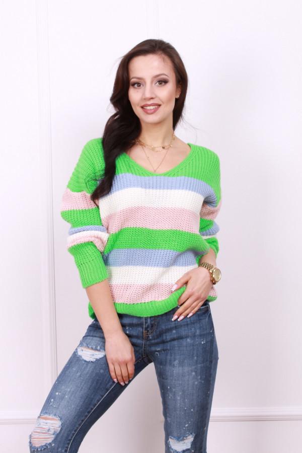 Sweter z odkrytymi plecami 1