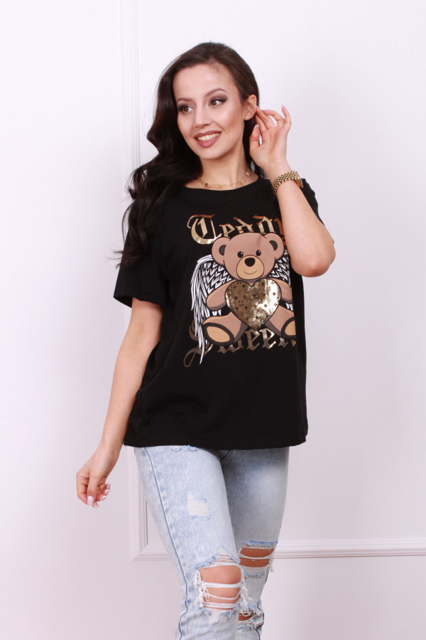 T-shirt z misiem 3