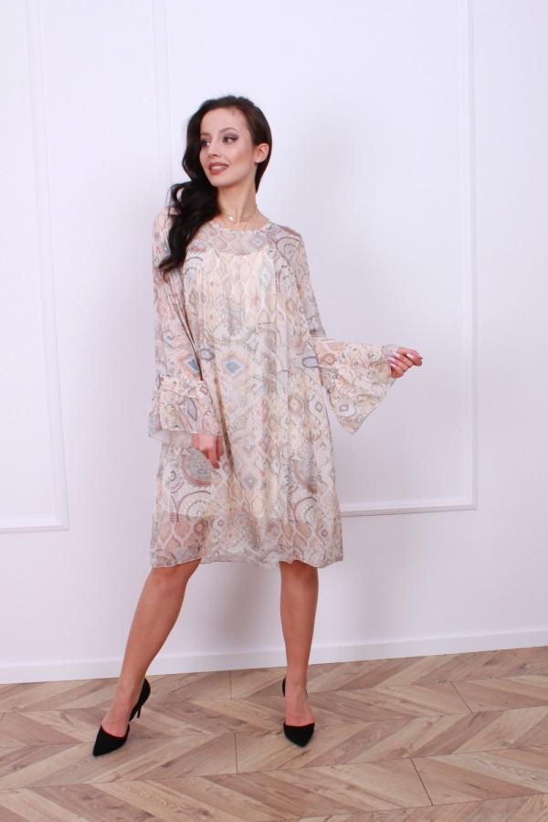 Sukienka jedwabna 1