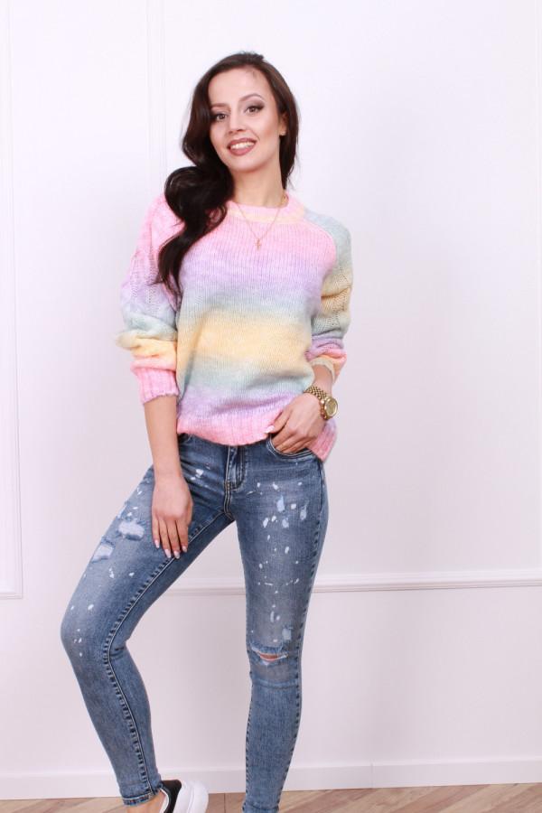 Sweter multikolor