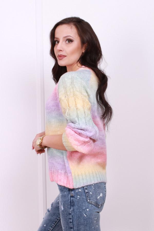 Sweter multikolor 1