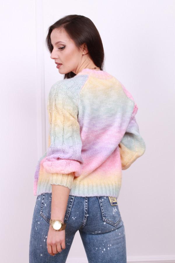 Sweter multikolor 2