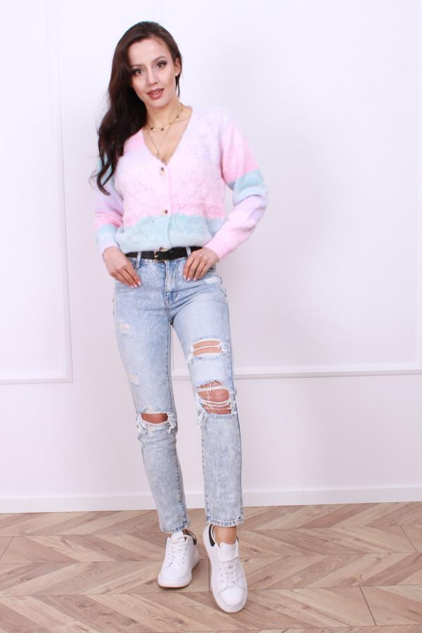 Spodnie jeansowe jasne