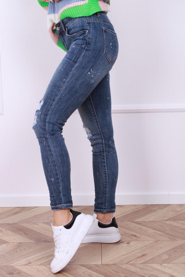 Spodnie jeansowe ciemne 1