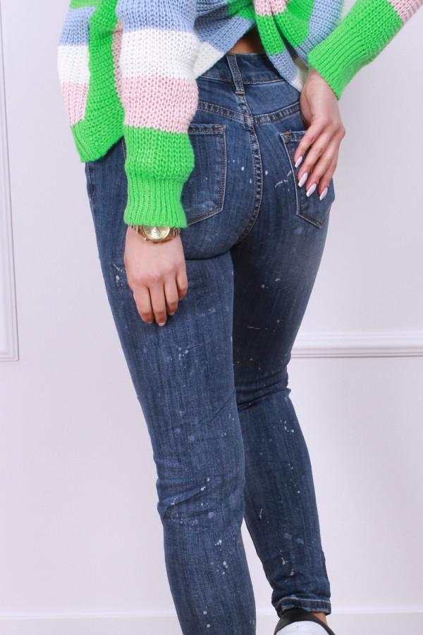 Spodnie jeansowe ciemne 2