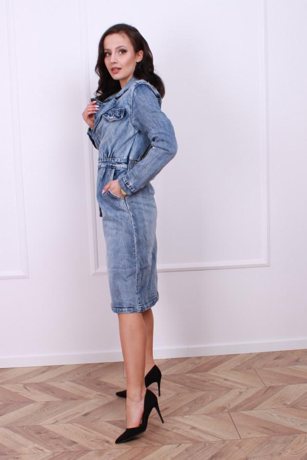 Sukienka jeansowa 1