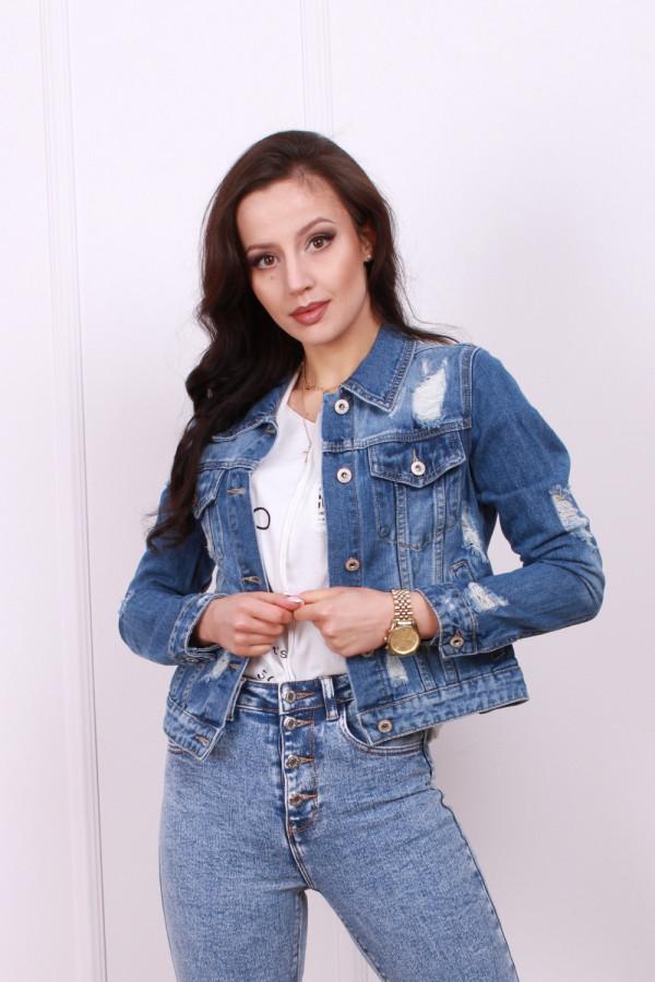 Kurtka jeans wzór cc 2