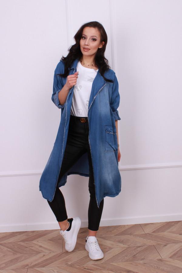 Narzutka jeansowa