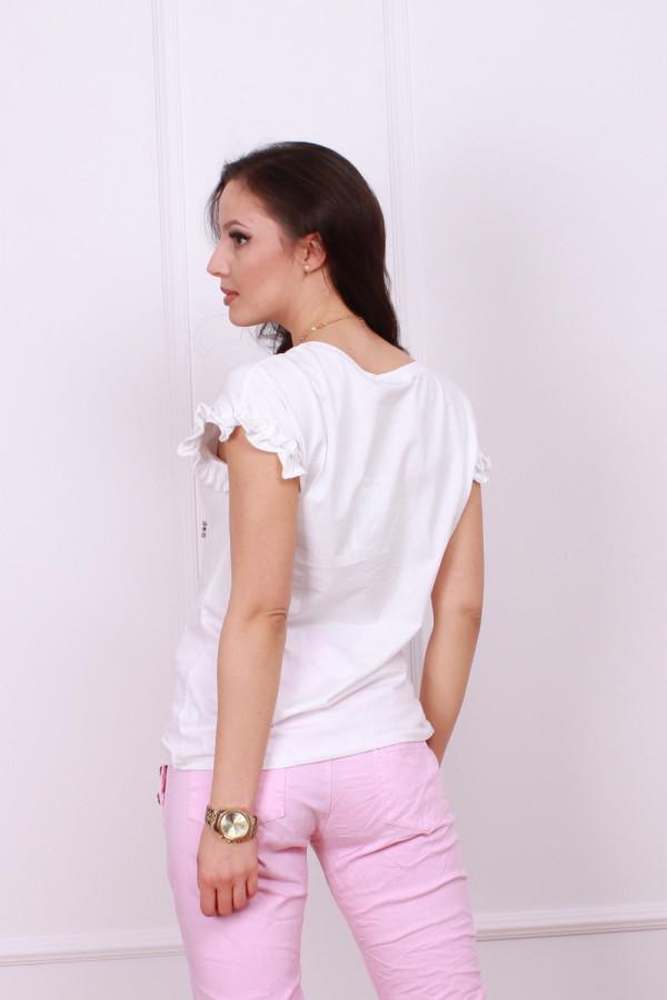 T-shirt z perłami 3