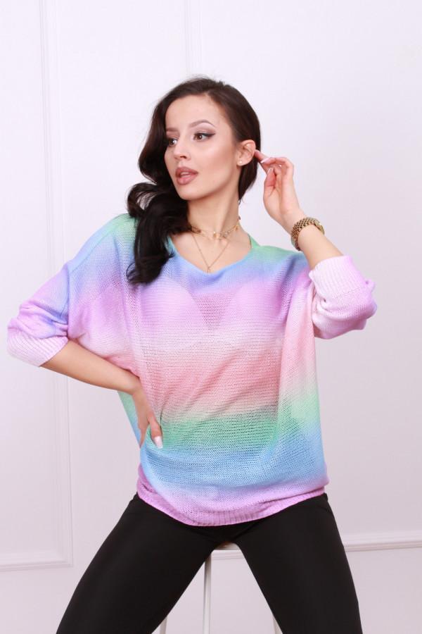 Sweterek tęczowy