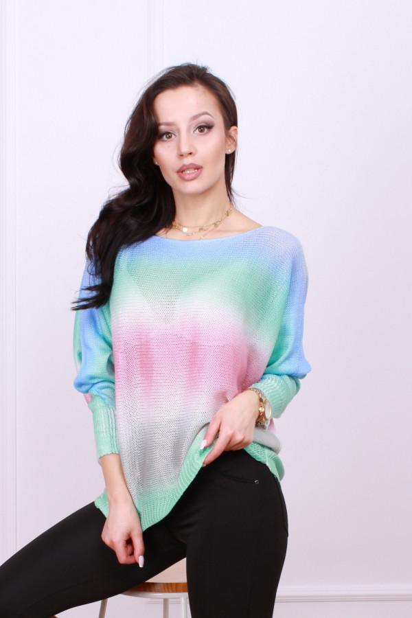 Sweterek tęczowy 1