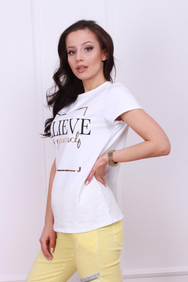 T-shirt believe 1