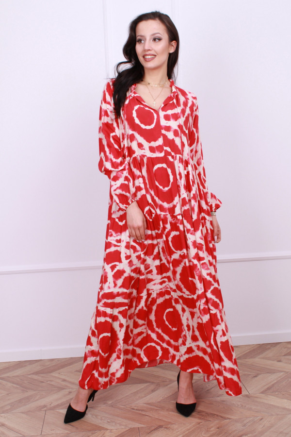Sukienka maxi obręcze 1