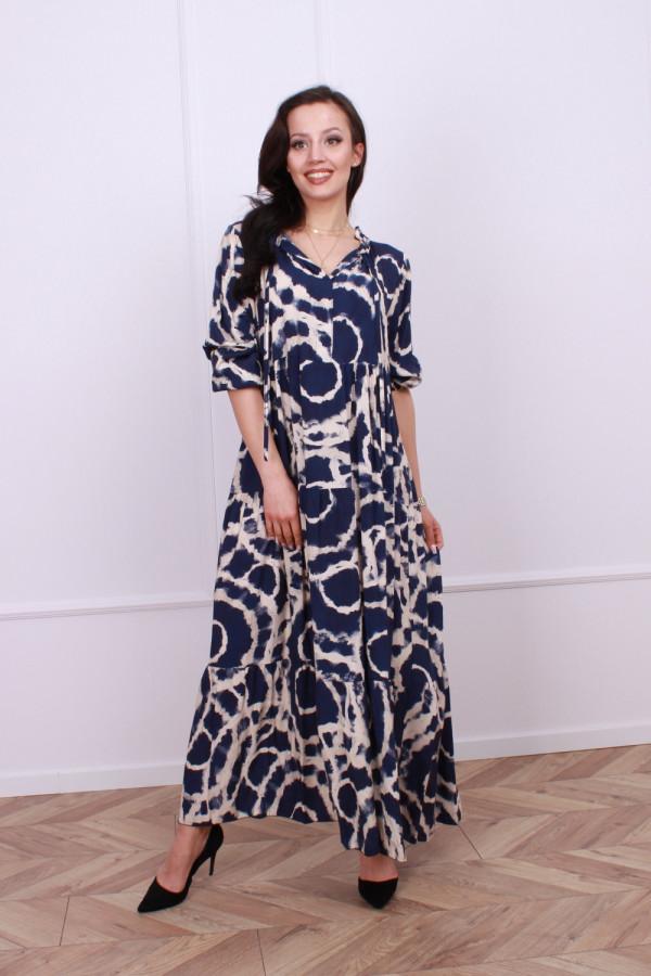 Sukienka maxi obręcze 3
