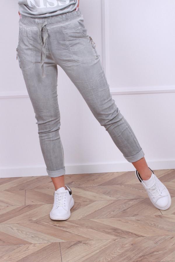 Spodnie z gumką 8