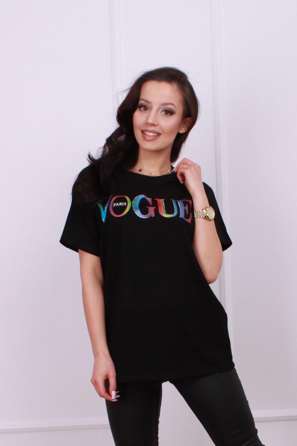 T-shirt vogue multikolor