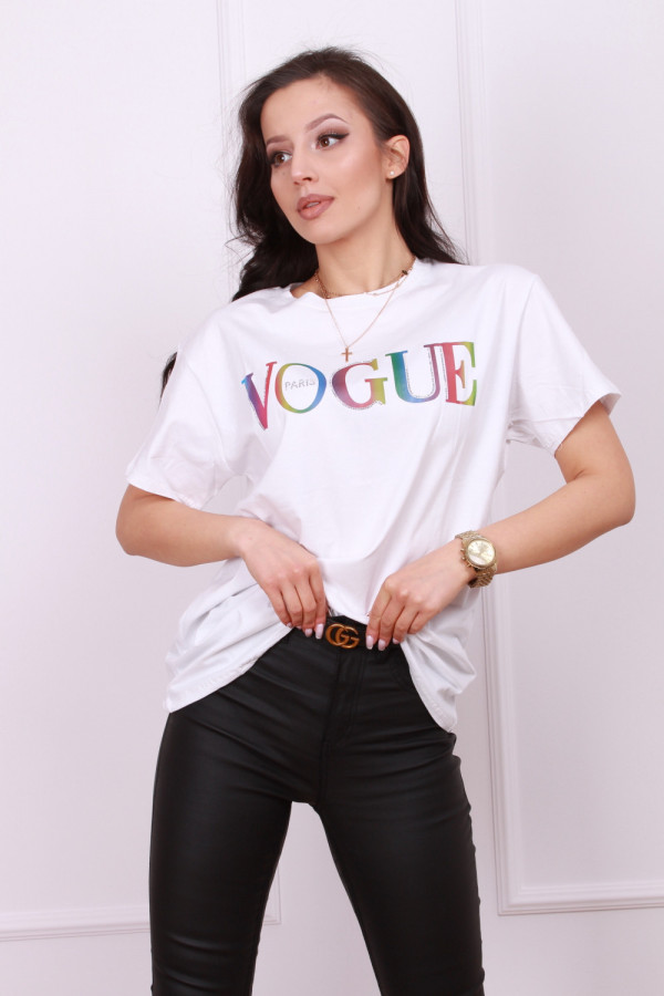 T-shirt vogue multikolor 1