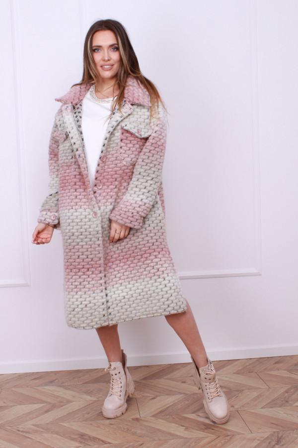 Płaszcz multikolor 4