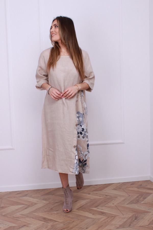 Sukienka lniana 1