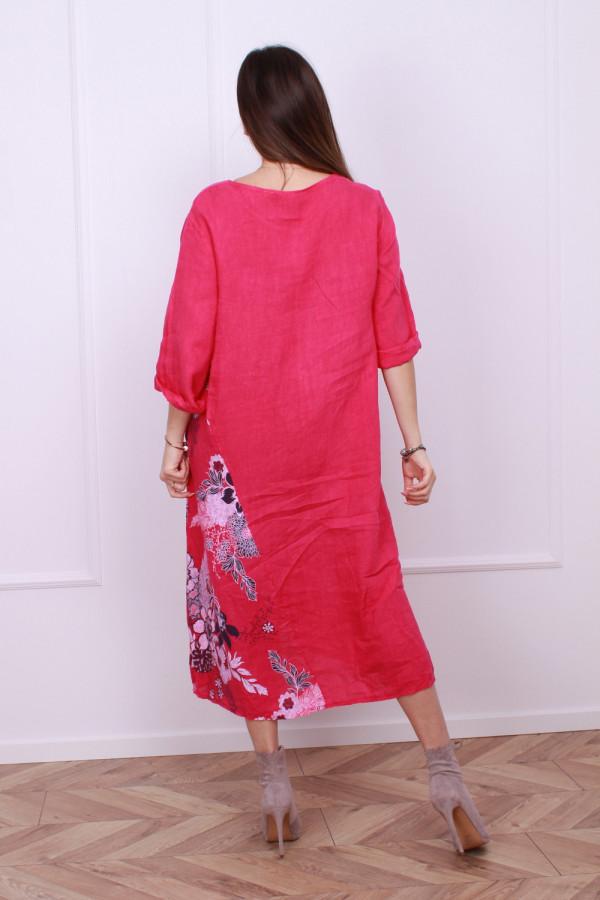 Sukienka lniana 7