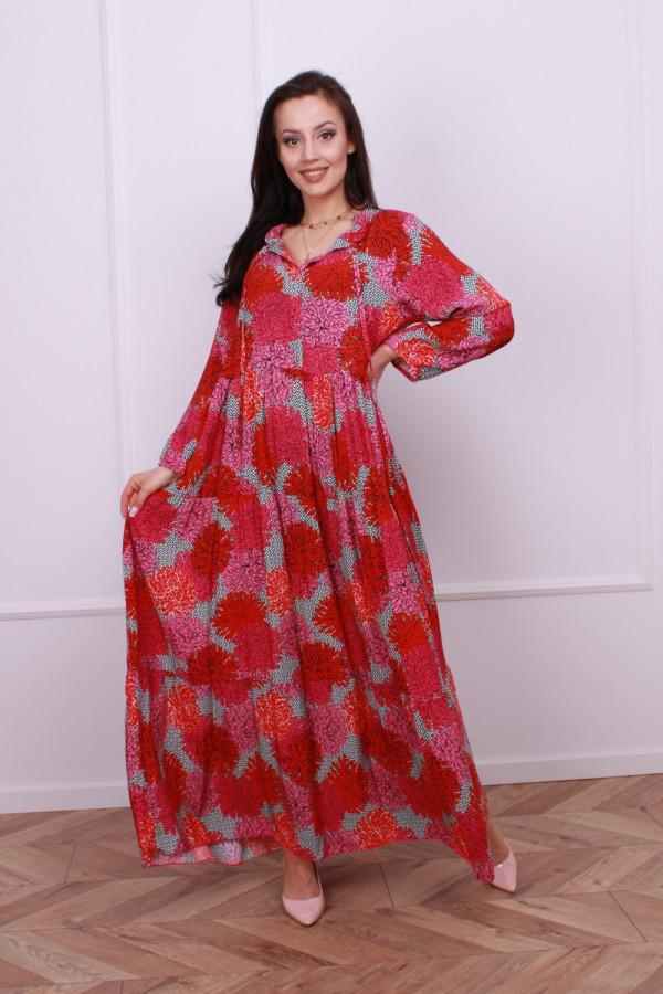 Sukienka maxi Claresa