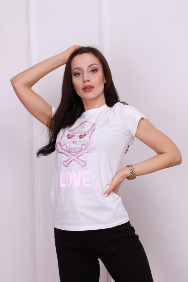 T-shirt z czaszka 3