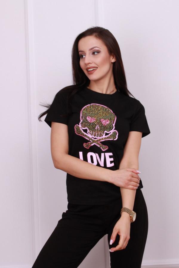 T-shirt z czaszka 4
