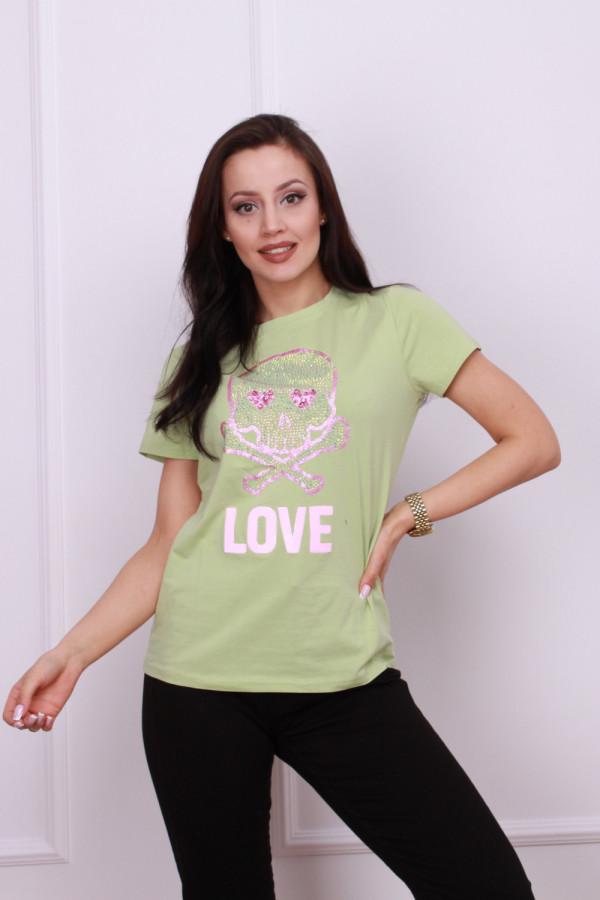 T-shirt z czaszka 5
