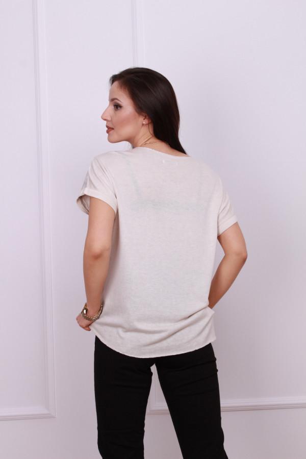 T-shirt z błyszczącą poświatą 2