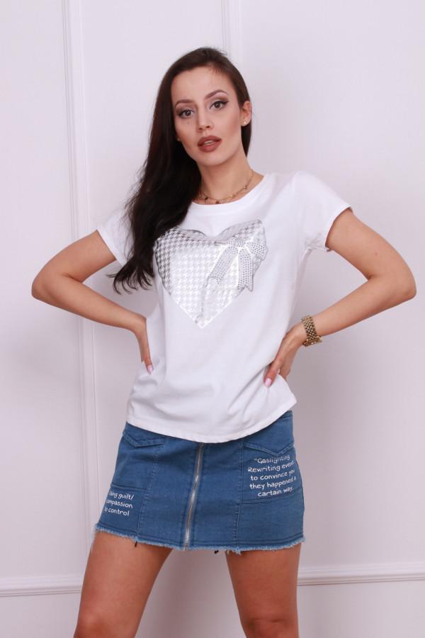 T-shirt serce 3