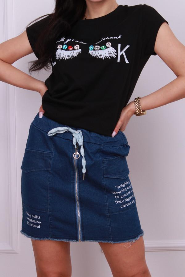 Spódniczka jeansowa 1