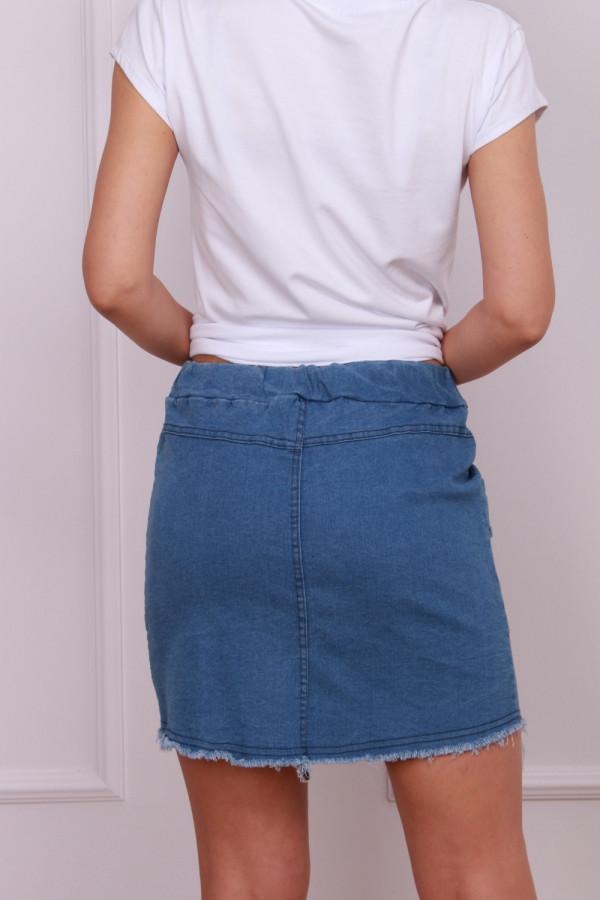 Spódniczka jeansowa 3