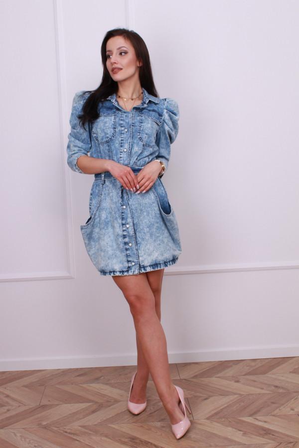 Sukienka jeansowa Carmen