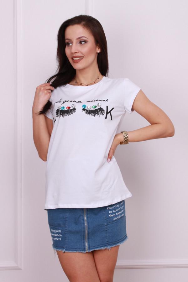 T-shirt look