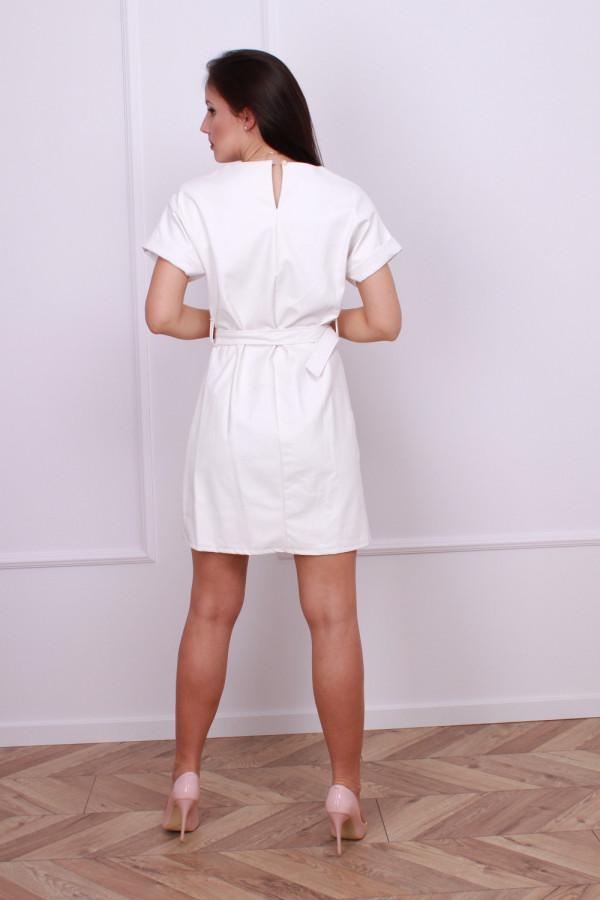 Sukienka z eko skóry 2