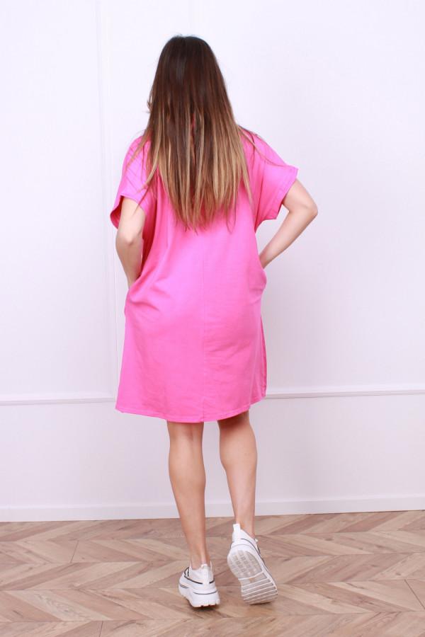 Sukienka lniana z zającem 2