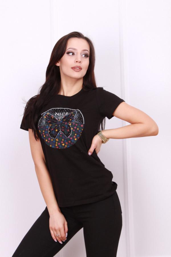 T-shirt z motylem 3