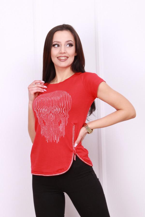 T-shirt czaszka