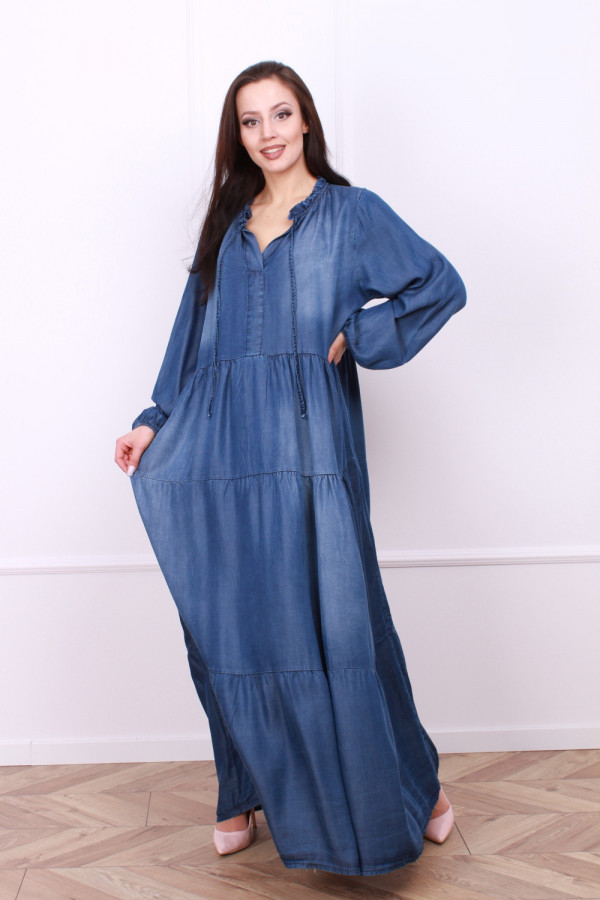 Sukienka jeansowa Nath